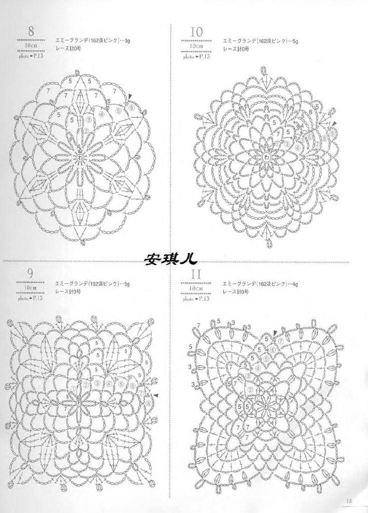 #ClippedOnIssuu from Crochet lacework four seasons [jap]