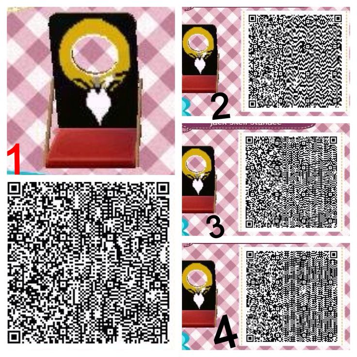 Animal Crossing QR Codes - Standee