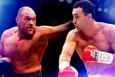 Bulan April Mendatang Jadwal Rematch Tyson vs Klitschko Diumumkan - Amanah Anak Negeri