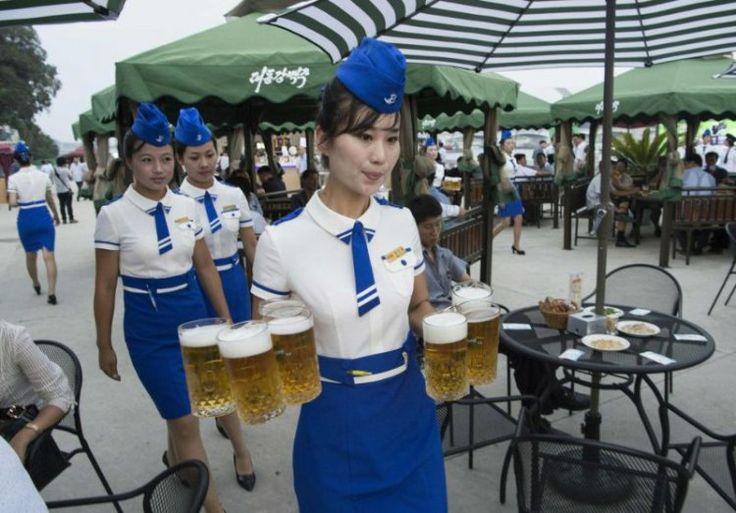 Первый пивной фестиваль в Северной Корее