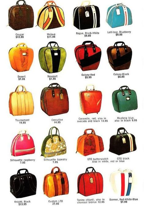 the newport or the mojave... - (ten pin bowling)(bowling ball)(bags)