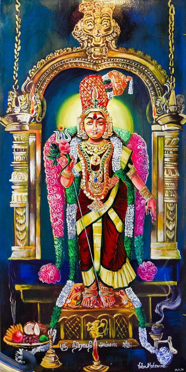 Free Hd Hindu God Wallpapers Amman Draupadi Amman Mythology Art Durga Goddess