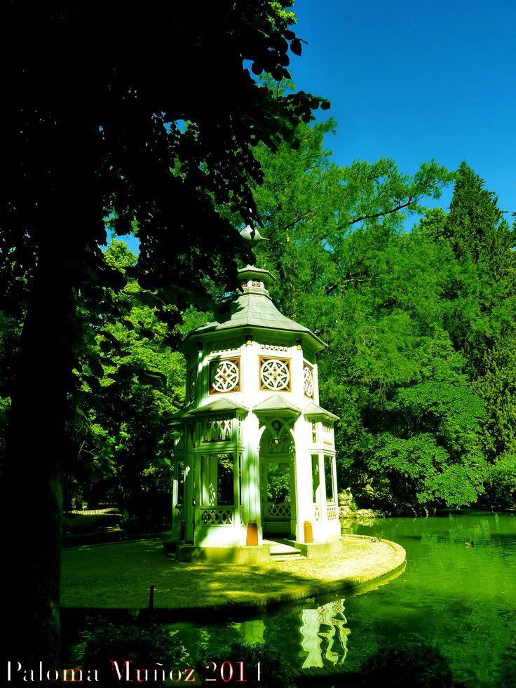 Pabell n chino jardines del pr ncipe en aranjuez chinese for Restaurante jardin del principe en aranjuez