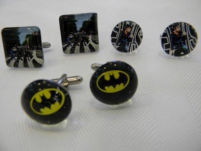 Cufflinks! Available at ArtistsWalk in Burlington, ON