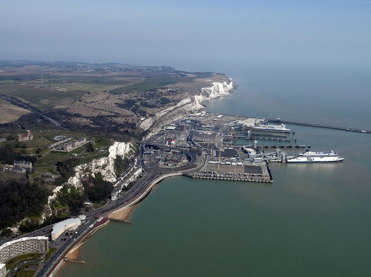 Dover Ferry Port Aerial | by John D F