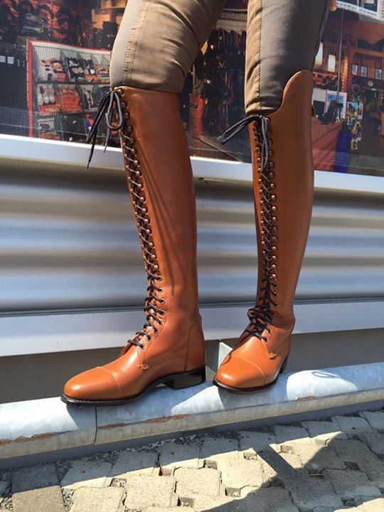 Konigs Lace Up Boots Riding Boots Boots Vintage Boots