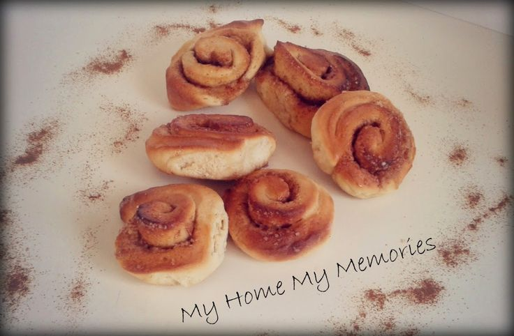 My home My memories: Ρολλάκια κανέλας