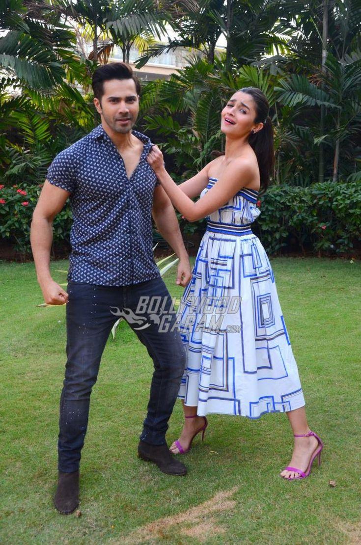 Varun Dhawan and Alia Bhatt at Badrinath Ki Dulhania promotional photoshoot