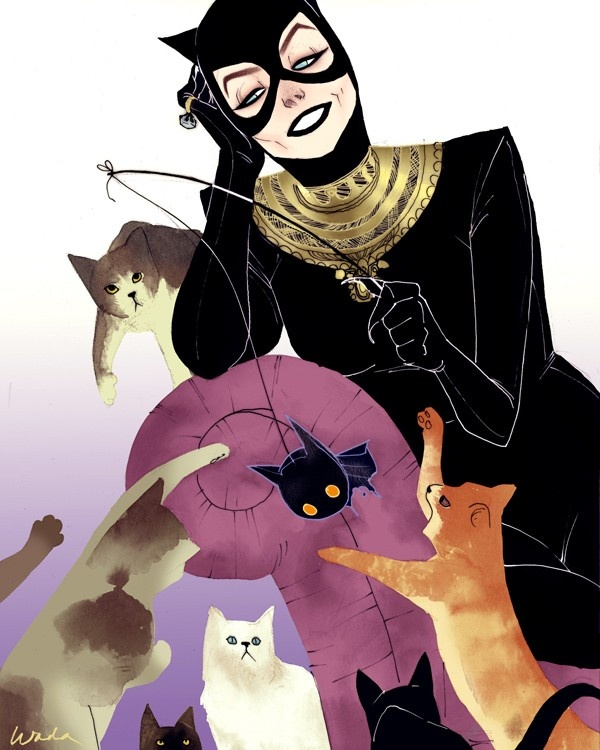 Kevin Wada High Fashion Catwoman