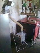 Καυστήρας βιομάζας Β-ΜΙΧ σε λέβητα πετρελαίου στον Κορινό Πιερίας