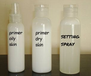 Primers, Toners, and Setting Spray - seems almost too simple, but I am interested in the primer for oily skin.