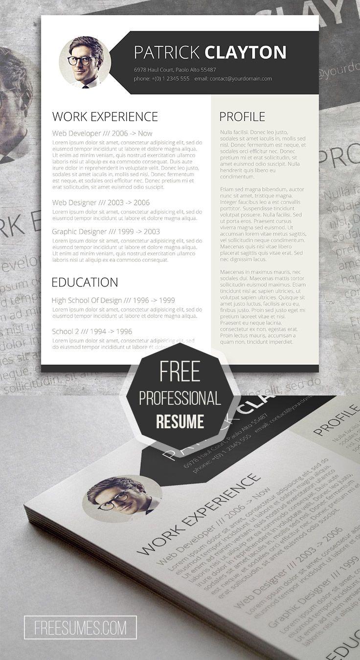 free creative resume design smart and professional - Free Creative Resume