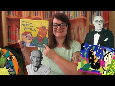 When Pigasso Met Mootisse read by Eric Close - YouTube