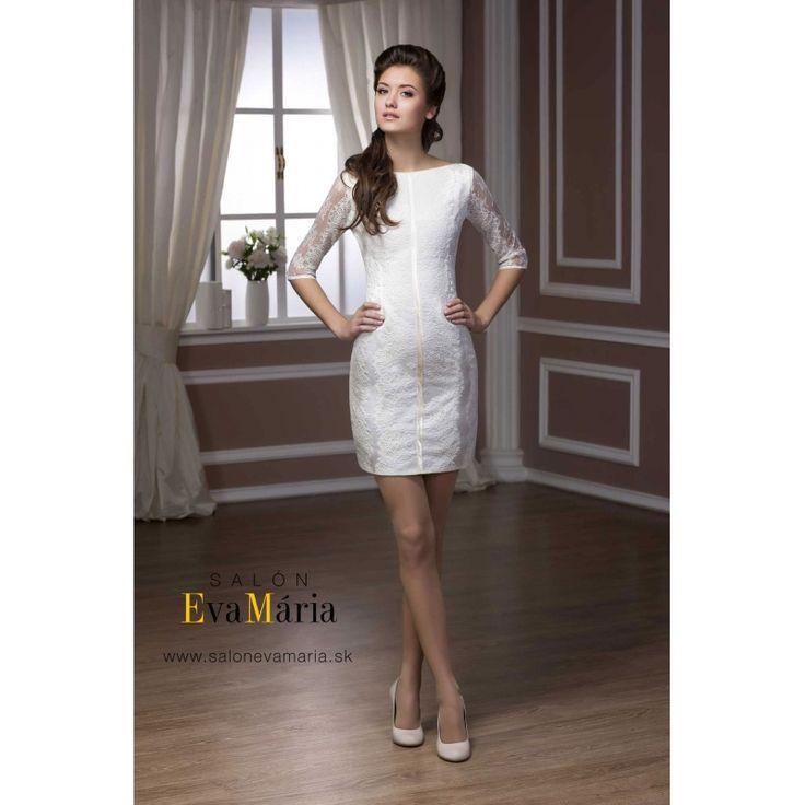 Biele svadobné šaty Jane