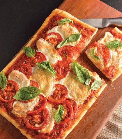 Recetas para hacer una pizza margarita