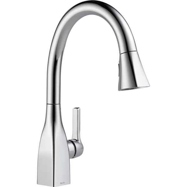 shop delta faucet delta mateo chrome faucet type sinkcounter mount traditional kitchen faucet at loweu0027s canada find our selection of kitchen faucets at