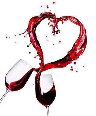 Liefde is samen wijn drinken!