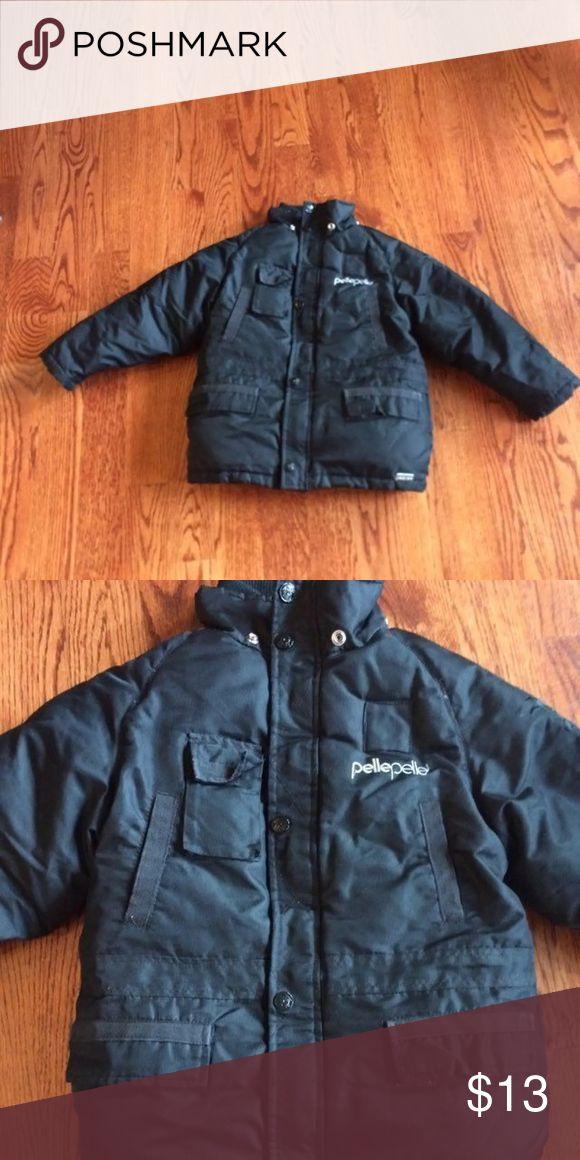 PellePelle boys winter coat This coat is VERY Fuzzy and warm inside:) Pelle Pelle Jackets & Coats