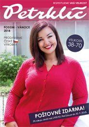544c1cadb58 Каталог женской одежды больших размеров чешского бренда Petrklíč осень 2018