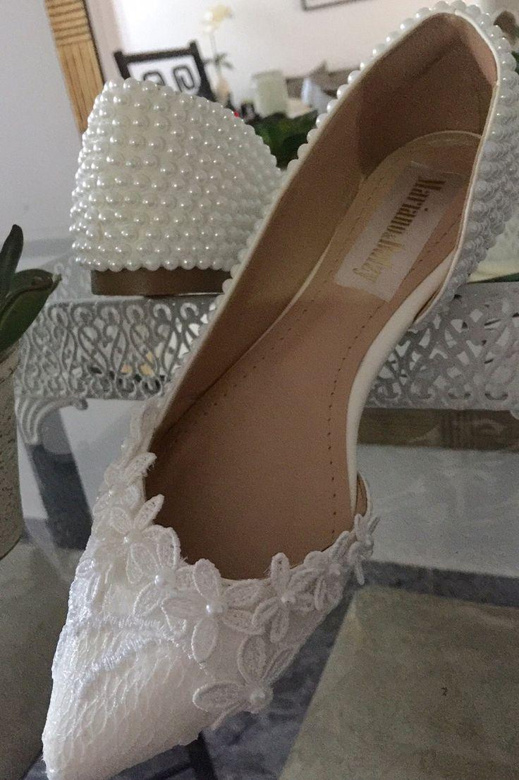 Sapatilha para noiva sob encomenda, consulte tamanho disponível