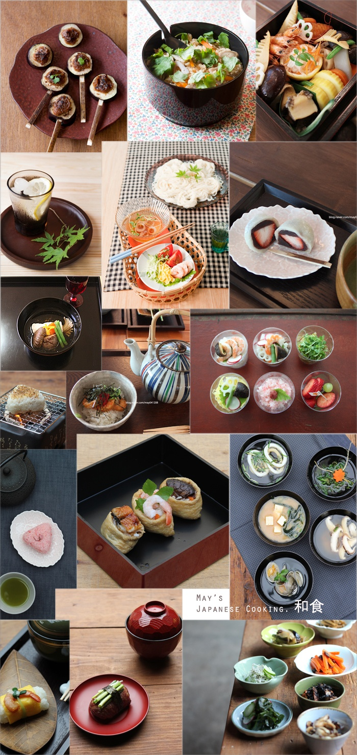 Japanese Foods.  And to think I will get to eat all this in september!!!!!!
