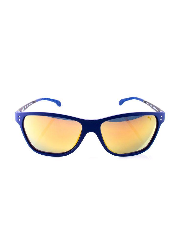 Lentes Puma Azul y Amarillo , Visítanos en www.clickonero.com.mx ... Un…