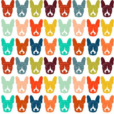 Murphster the French Bulldog Pattern.