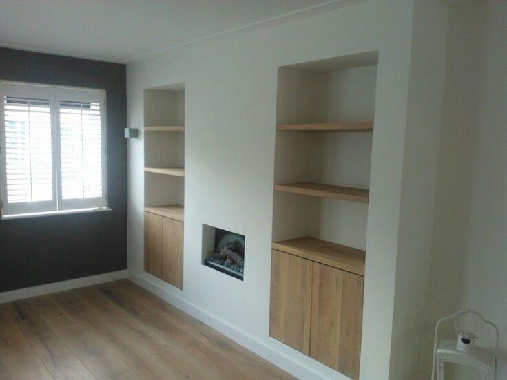 Inbouwkast in woonkamer of slaapkamer