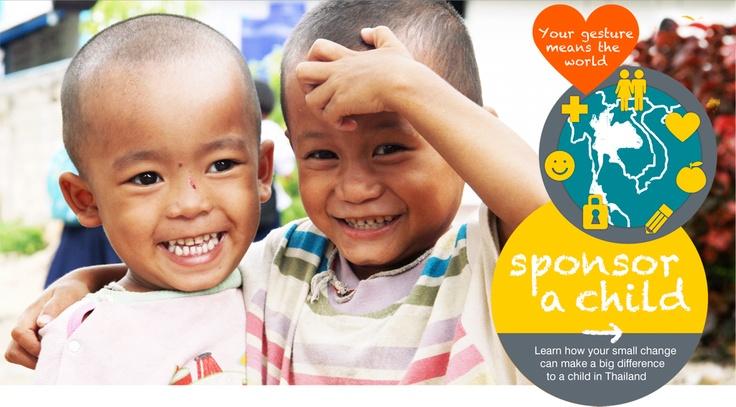 Sponsor a Child at www.thaichildrenstrust.org.uk