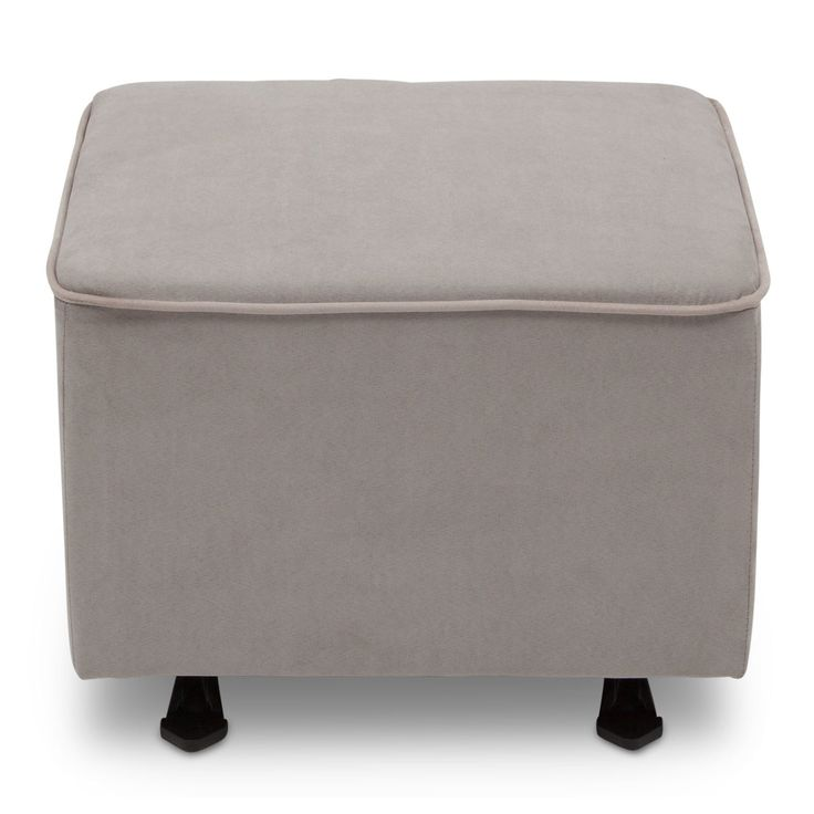 $120 on wayfair. Currently out of stock. Dove gray Delta Children gliding ottoman.