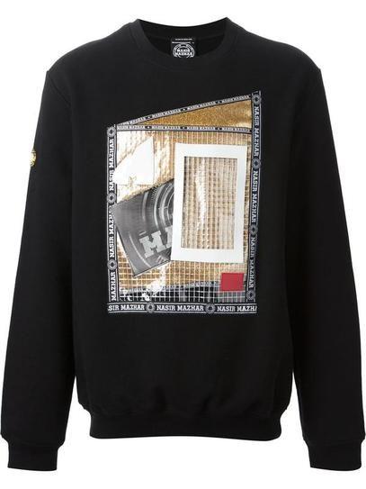 Fall Shopping: Nasir Mazhar 'Lenticular' graphic sweatshirt