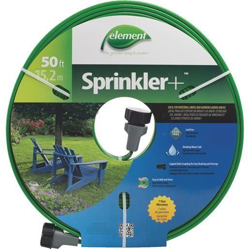 Swan Products LLC 50' Sprinkler Hose CELTECV050 Unit: Each, Green