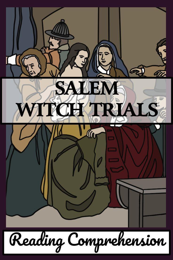 Salem Witch Trials Reading Passages Comprehension Questions Reading Passages Comprehension Questions Reading Comprehension