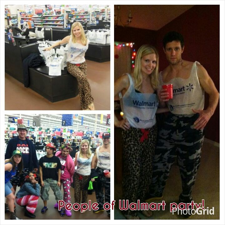 People Of Walmart Party Dress Up Like Random Crazy Ppl At