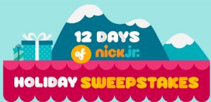 Viacom 12 Days of Nick Jr. Holiday Sweepstakes & Instant Win Game!