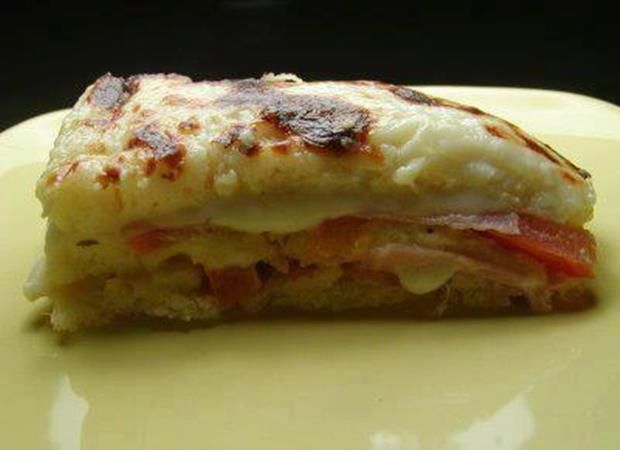 Lasanha de Pão de Forma: Bread, Form, Lasagna, Bread, Brazilian Food Desserts Drinks