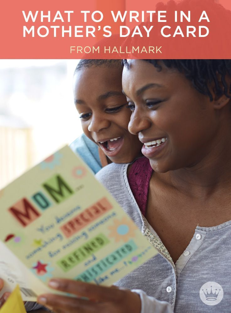 Mother's Day Messages: What to Write in a Mother's Day Card | Message ideas from Hallmark card writers. Includes more than 90 Mother's Day wishes, plus helpful writing tips.