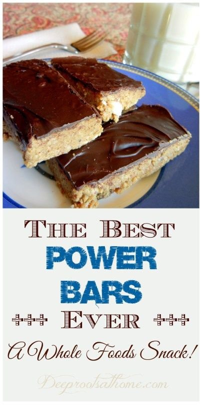 The Best Power Bars Ever ~ A Whole Foods Snack!