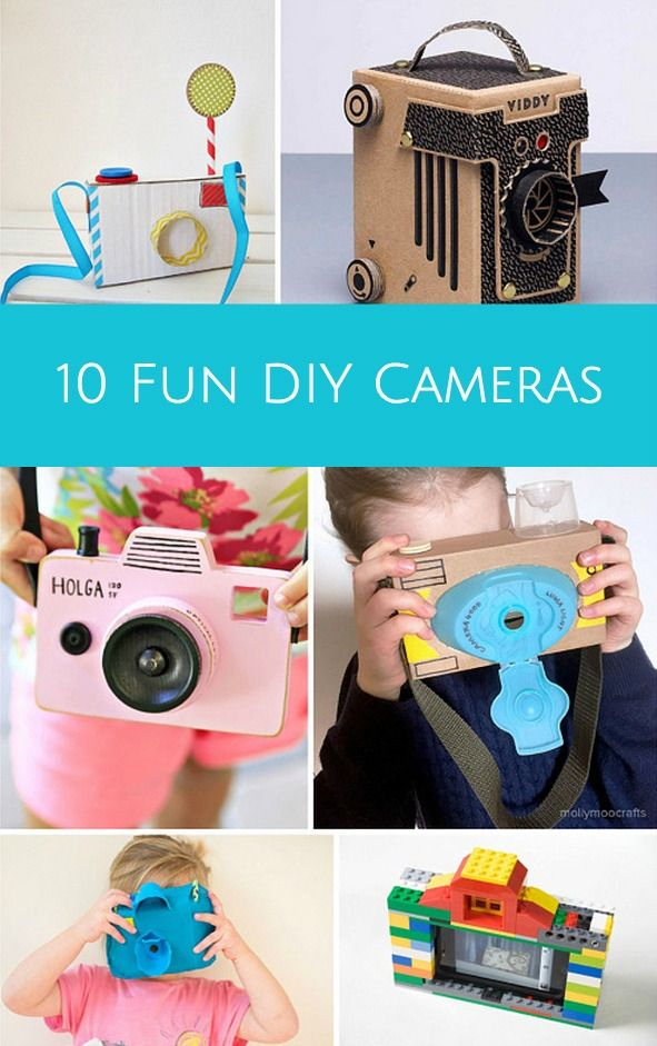 10 Fun Ways to Make a Camera for Kids.