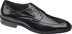 Johnston+&+Murphy+Ware+Runoff+Lace-Up+-+Brown+Calfskin+with+FREE+Shipping+&+Returns.+The+Ware+Runoff+Lace-up+is+a+classic+pair+of+loafers+that+feature+Cement+