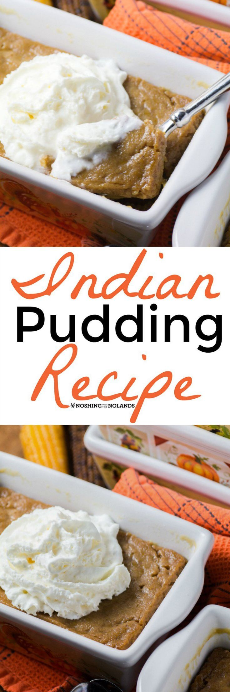Indian Pudding Recipe by Noshing With The Nolands is a must make recipe if you are a pumpkin spice lover. Sure to become a family favorite!