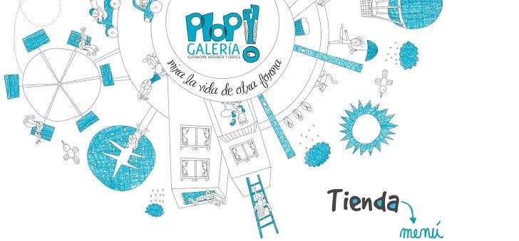 PLOP! GALERÍA  Merced 349 Local 7,Barrio Lastarria  (Metro Bellas Artes). Santiago de Chile. www.plopgaleria.com