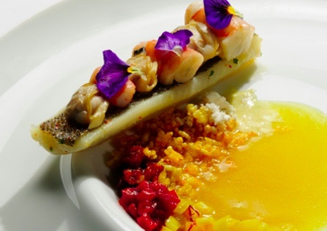 Viajante (London, England) - The word means traveller in Portuguese and reflects head chef Nuno Mendes' take on world cuisine.