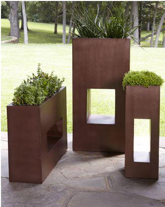 Horchow | Copper Planters
