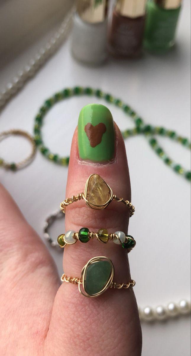 Nail Jewelry, Cute Jewelry, Jewelry Art, Jewelery, Fashion Jewelry, Unique Jewelry, Golden Jewelry, Crystal Jewelry, Beaded Jewelry