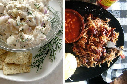 Two Slow Cooker Meals for Hot Weather