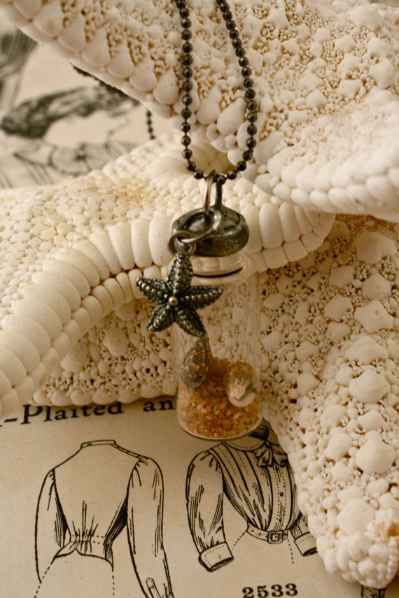 Beach in a Bottle Necklace