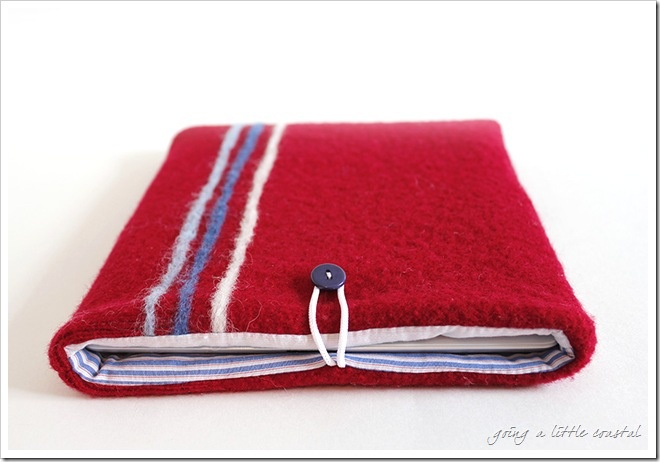 ipad felted cover.........