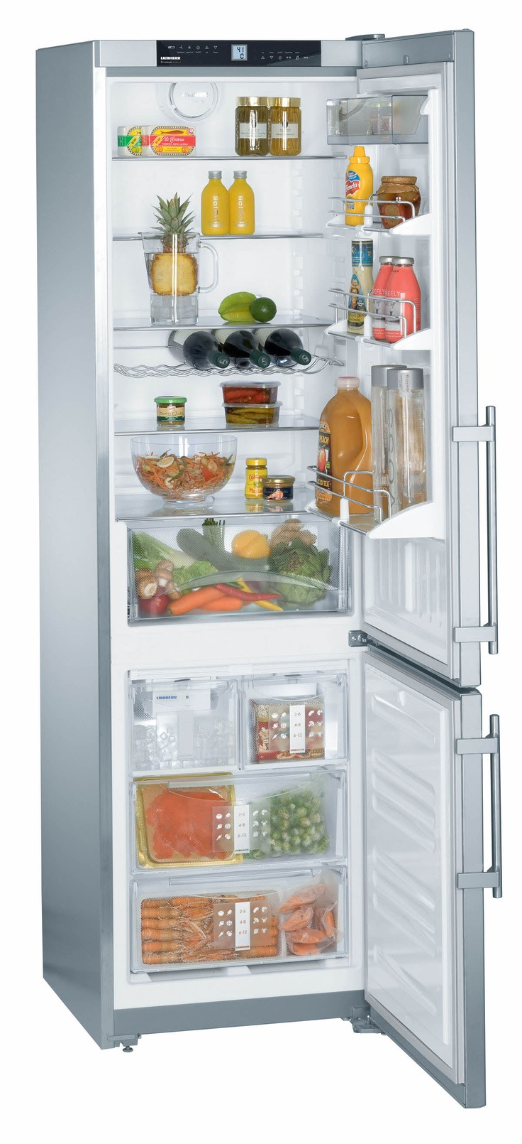 """CS1360 by Liebherr in Orlando, FL - 24"""" Refrigerator & Freezer - I don't care where I get it from... THAT is the fridge that I want - I saw it at this place in Paramus, NJ and it's perfect for my place - I need it to be 24"""" wide - and... BAM!.."""