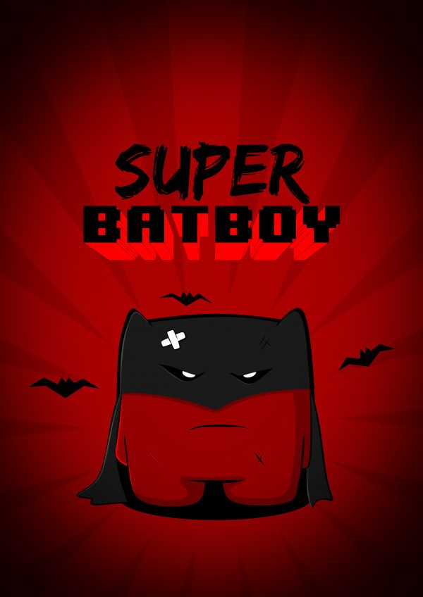 Ilustración Super Meat Boy Super Meat Boy Les Super Héros